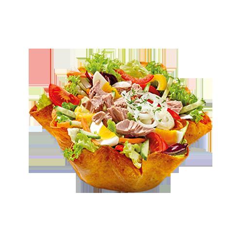 Nordsee salat mit thunfisch