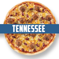 Pizza Tennessee (scharf)