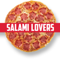 Pizza Salami Lovers
