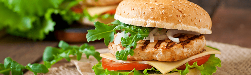 Chicken Burger & Wraps
