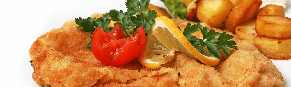 Escalope and deep-fried dishes
