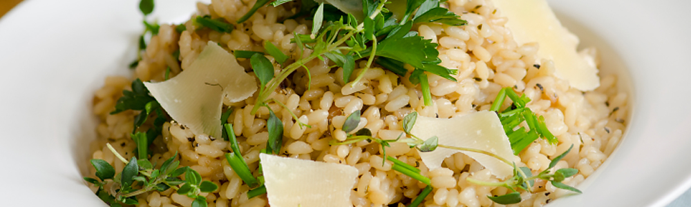 Risotto - rice dishes