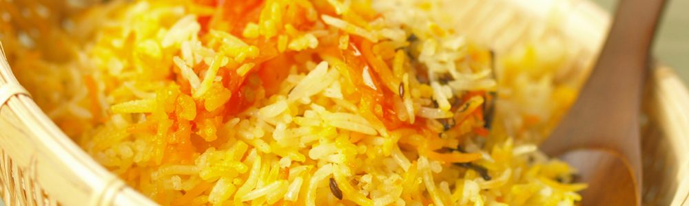Basmati - Rice dishes