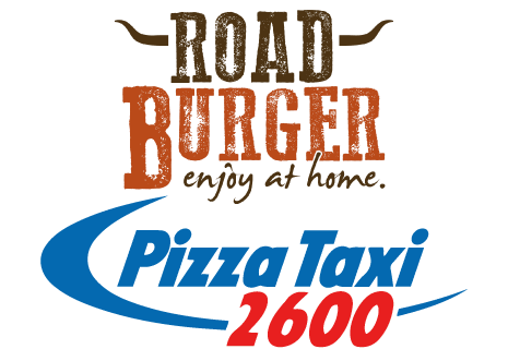 logo Road Burger - Pizza Taxi 2600