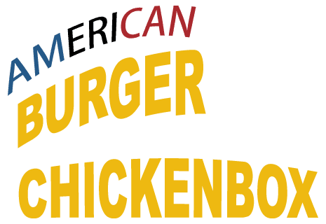 logo American Chicken Burger Box